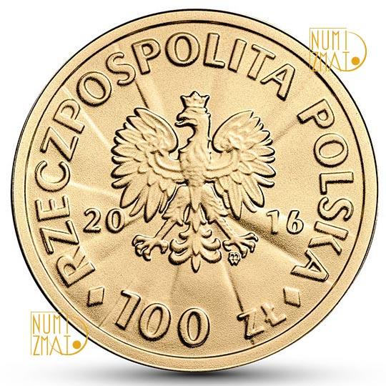 100 zł 2016 r. - Józef Haller - 100-lecie Niepodległości Państwa Polskiego