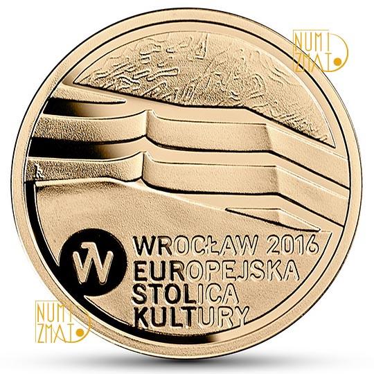Moneta 100 zł Wrocław Europejska Stolica Kultury