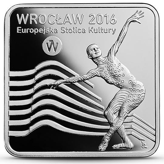 Moneta 10 zł Wrocław – Europejska Stolica Kultury