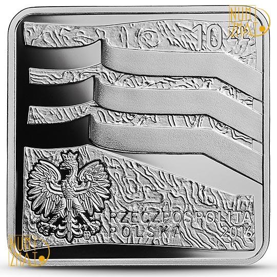 Moneta 10 zł Wrocław Europejska Stolica Kultury