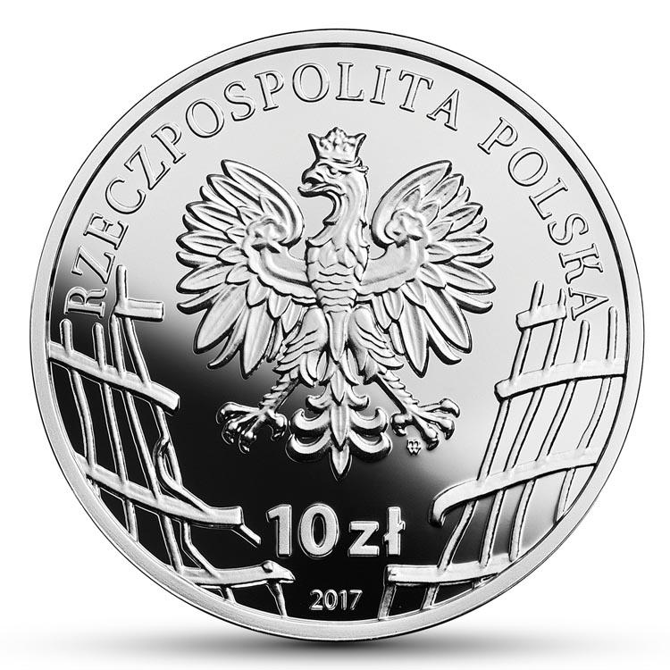 10 zł 2017 r. - Henryk Glapiński Klinga - Żołnierze Niezłomni (5)