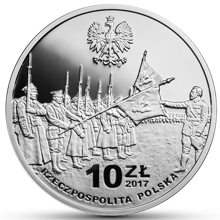 10 zł 2017 r. - 100-lecie powstania Komitetu Narodowego Polskiego