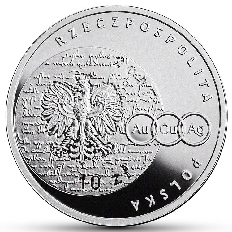 10 zł 2017 r. Mikołaj Kopernik - Wielcy polscy ekonomiści