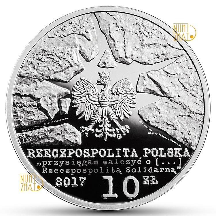 10 zł 35-lecie Solidarności Walczącej (temat indywidualny)