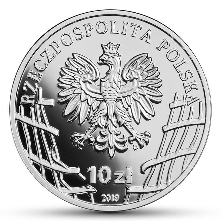 """10 zł Łukasz Ciepliński """"Pług"""" Wyklęci przez komunistów żołnierze niezłomni"""
