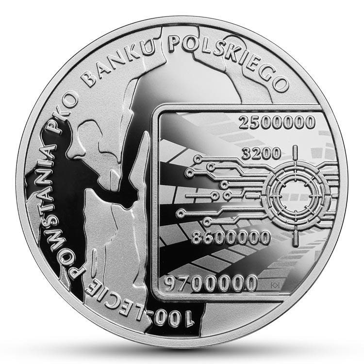 10 zł 2019 r. 100-lecie powstania PKO Banku Polskiego PKO BP