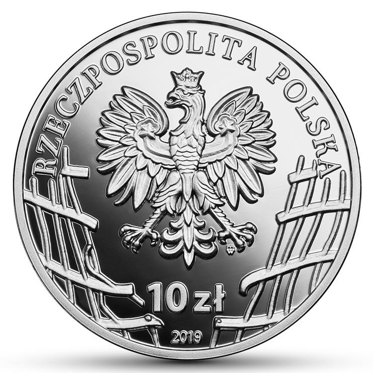 10 zł 2019 r. - Stanisław Kasznica WĄSOWSKI - Wyklęci przez komunistów żołnierze niezłomni (8)