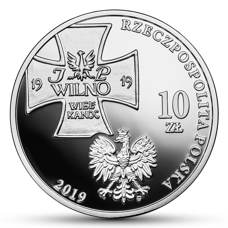 10 zł 2019 r. - Wyprawa wileńska (temat indywidualny)