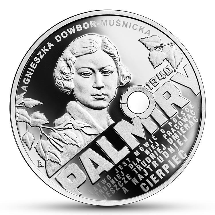 10 zł 2020 r. - Katyń - Palmiry 1940