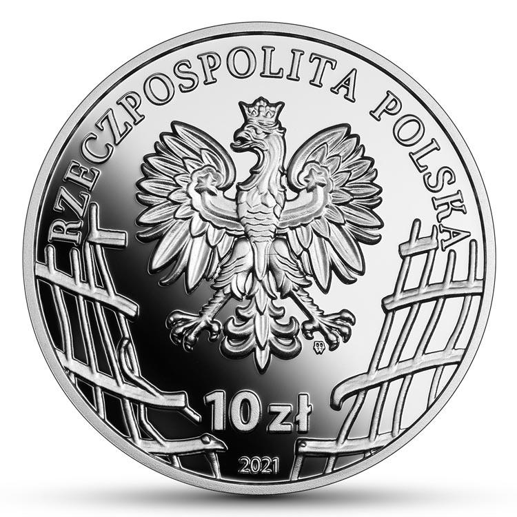10 zł 2021 r. - Kazimierz Kamieński Huzar - Wyklęci przez komunistów żołnierze niezłomni (12)