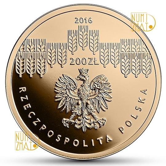 200 zł SGGW - 200-lecie Szkoły Głównej Gospodarstwa Wiejskiego w Warszawie (temat indywidualny)