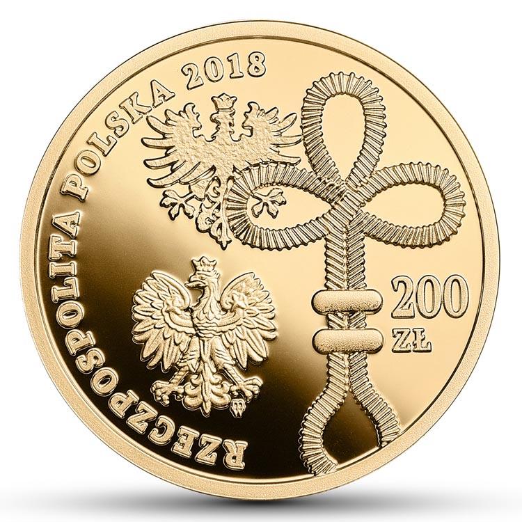 200 złotych 2018 100. rocznica wybuchu Powstania Wielkopolskiego (temat indywidualny)