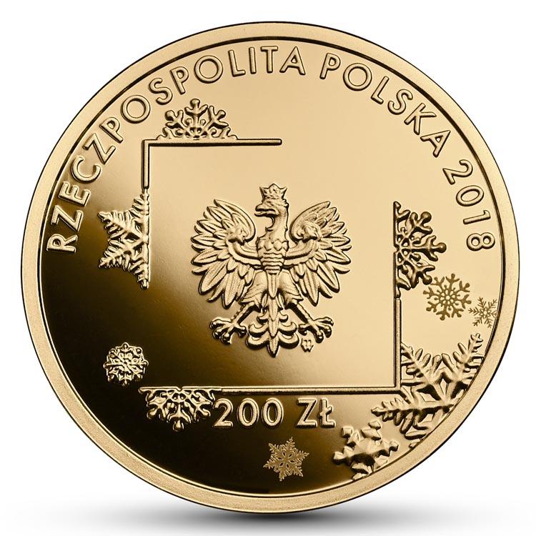 200 zł 2018 r. - Polska Reprezentacja Olimpijska PyeongChang 2018