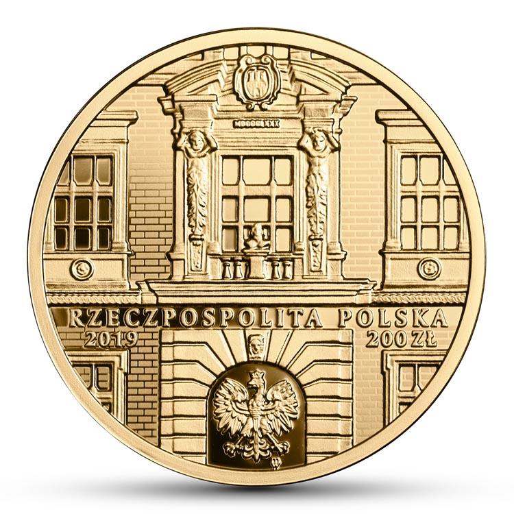 200 zł 2019 r. 200-lecie Akademii Sztuk Pięknych im. Jana Matejki w Krakowie