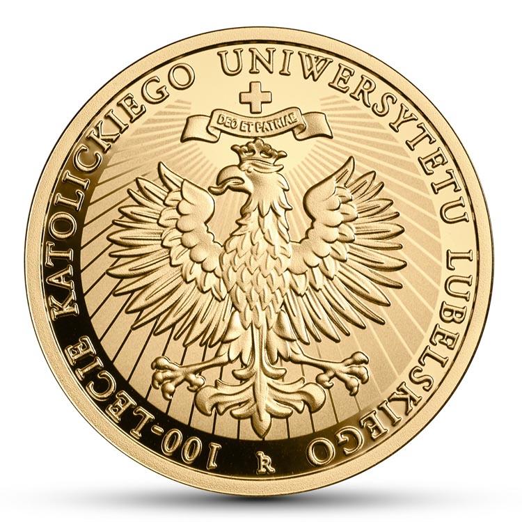 200 zł 2019 r. - 100-lecie Katolickiego Uniwersytetu Lubelskiego KUL
