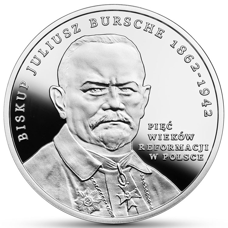 20 zł 2017 r. - 500-lecie Reformacji w Polsce