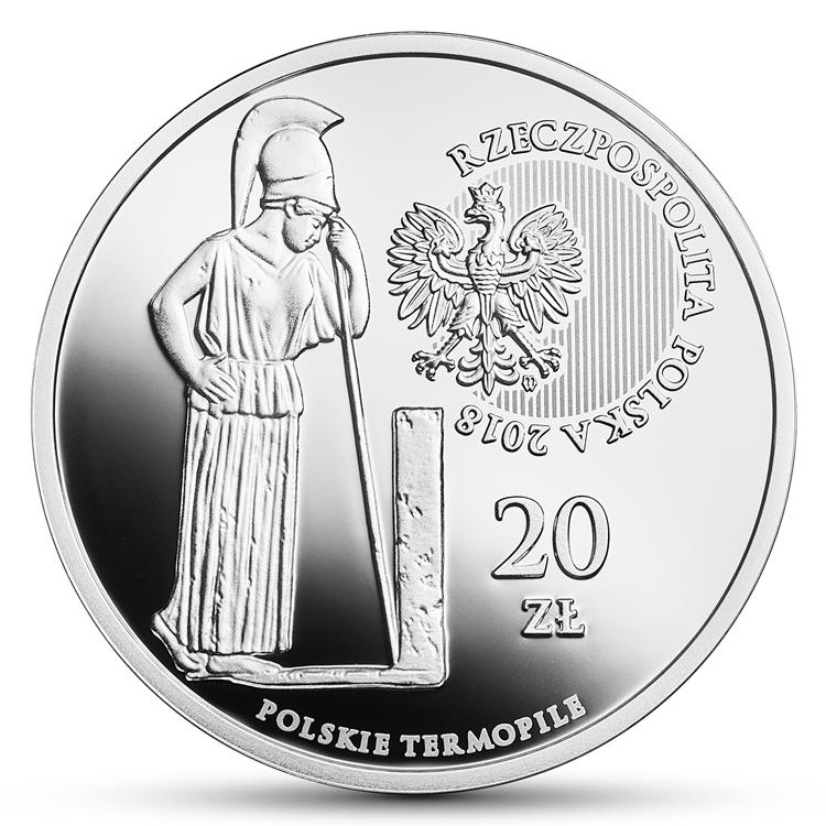 20 zł 2018 Hodów Polskie Termopile