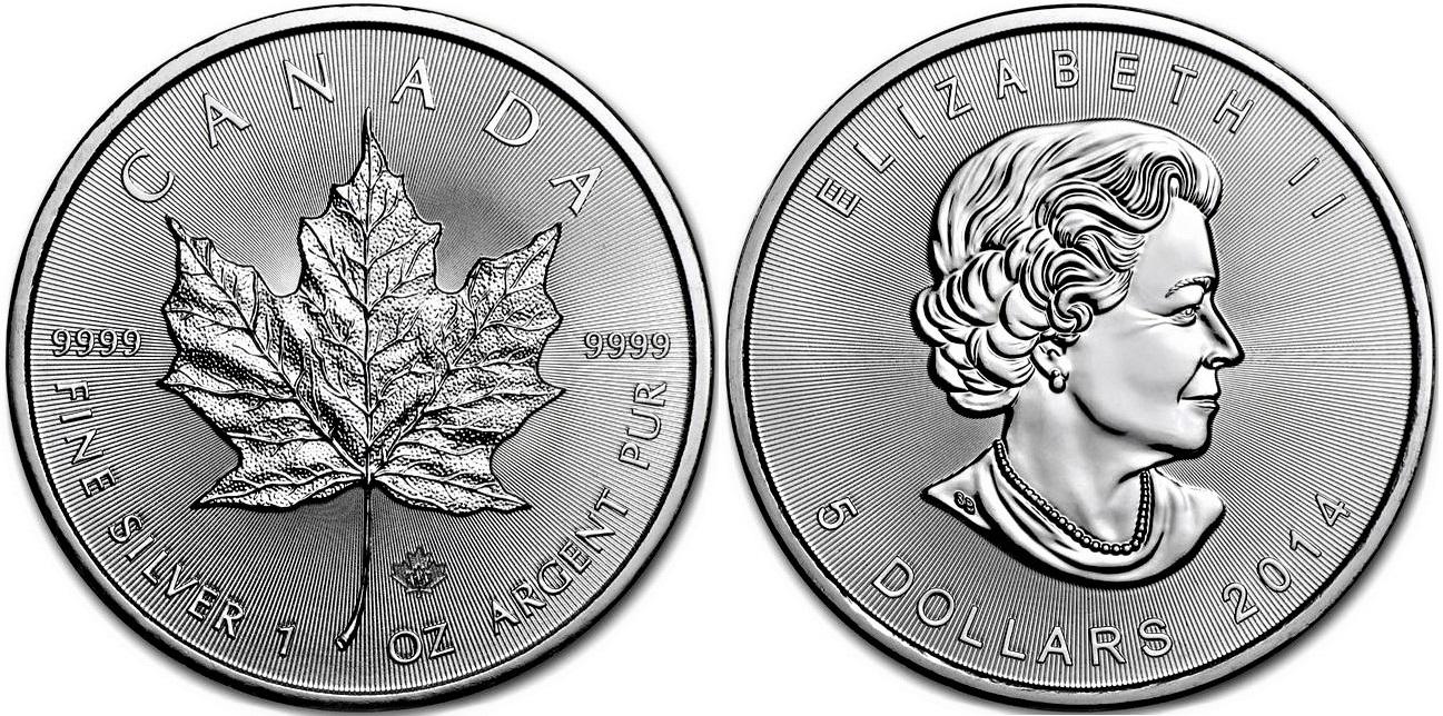 Monety srebrne bulionowe