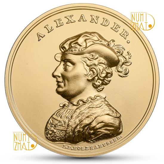 500 zł Aleksander Jagiellończyk, Skarby Stanisława Augusta