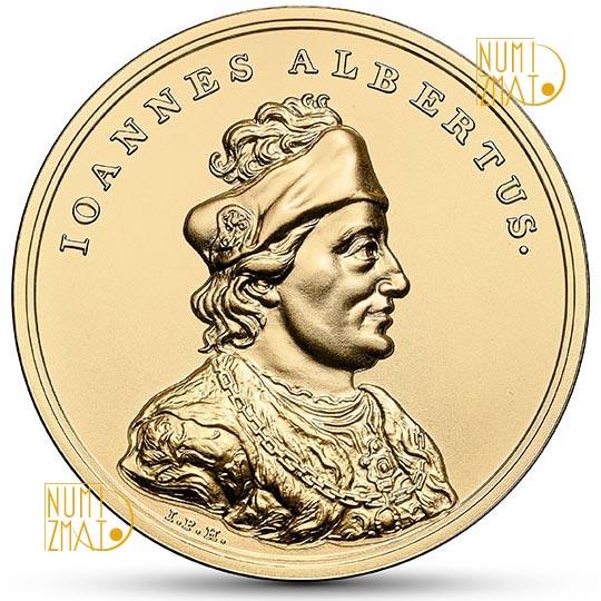 500 złotych 2016 r. - Jan Olbracht - Skarby Stanisława Augusta (kontynuacja serii)