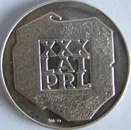 Monety obiegowe PRL, srebrne - skup
