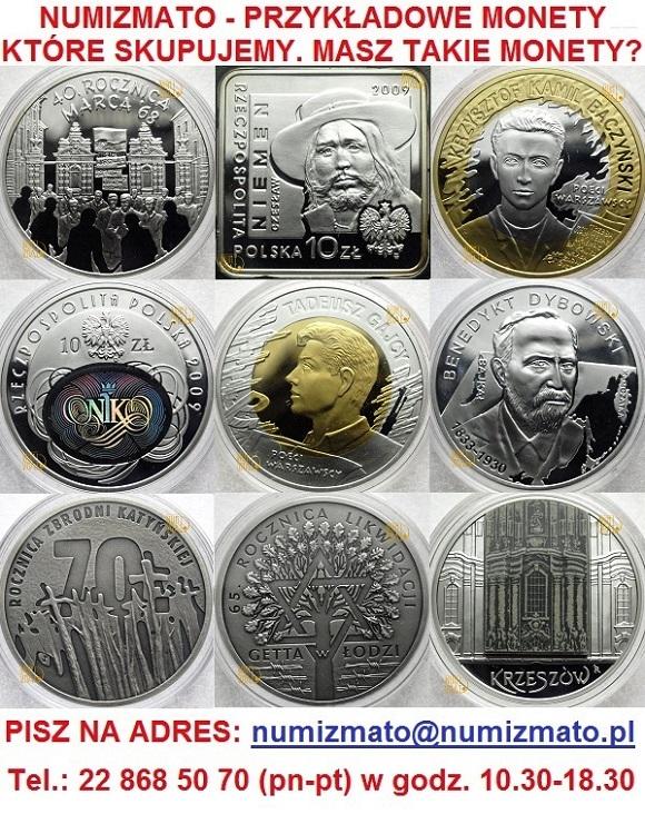 Skup monet srebrnych NBP