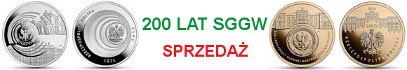 200 zł, 10 złotych SGGW - 200-lecie Szkoły Głównej Gospodarstwa Wiejskiego w Warszawie (temat indywidualny)