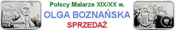 20 złotych 2016 r. - Olga Boznańska - Polscy Malarze XIX/XX w.