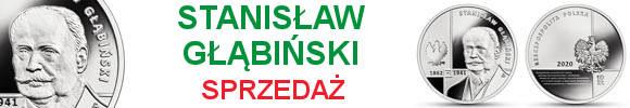 10 złotych 2020 Stanisław Głąbiński Wielcy polscy ekonomiści (kontynuacja serii)