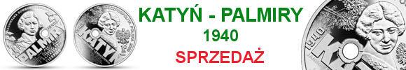 10 zł 2020 r. Katyń – Palmiry 1940 (temat indywidualny)