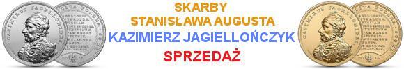 50 zł 2015 r. - Kazimierz Jagiellończyk - Skarby Stanisława Augusta