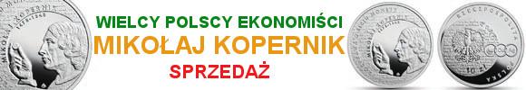 10 złotych 2017 Wielcy polscy ekonomiści – Mikołaj Kopernik