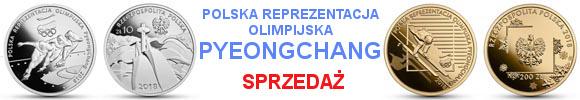 10 złotych 200 złotych Polska Reprezentacja Olimpijska PyeongChang 2018