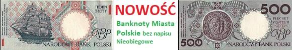 Album Zestaw Miasta polskie bez napisu nieobiegowe