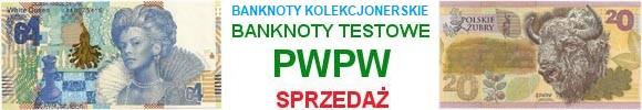 100 lecie PWPW banknoty i banknoty testowe