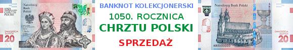 20 zł 1050. rocznica Chrztu Polski (temat indywidualny))
