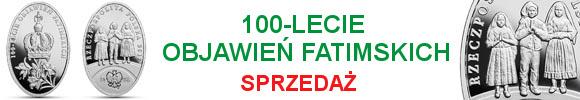 10 zł 100-lecie objawień fatimskich (temat indywidualny)