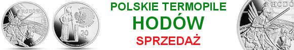 20 zł Hodów 2018 Polskie Termopile (kontynuacja serii)