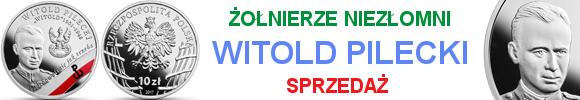 """10 zł Wyklęci przez komunistów żołnierze niezłomni – Witold Pilecki ps. """"Witold"""""""