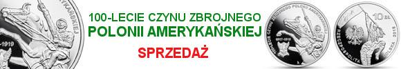 10 zł 2018 100-lecie czynu zbrojnego Polonii amerykańskiej (temat indywidualny)