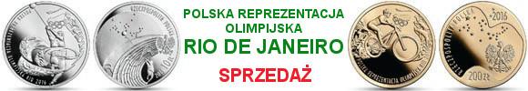 10, 200 zł Polska Reprezentacja Olimpijska Rio de Janeiro 2016