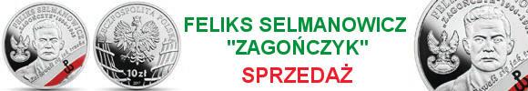 10 zł 2017 r. - Feliks Selmanowicz Zagończyk - Żołnierze Niezłomni (4)