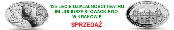 10 zł 2018 125-lecie działalności Teatru im. Juliusza Słowackiego w Krakowie