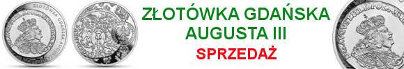 20 zł 2020 złotówka gdańska Augusta III - Historia monety polskiej (kontynuacja serii)