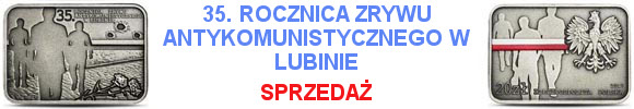 20 złotych 2017 35. rocznica zrywu wolnościowego w Lubinie